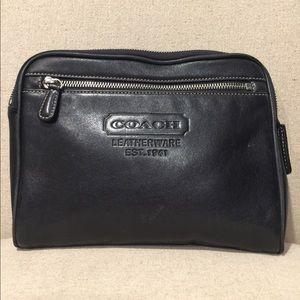 """Black COACH """"1941 LEATHERWARE"""" bag.Serial#K3S-5066"""